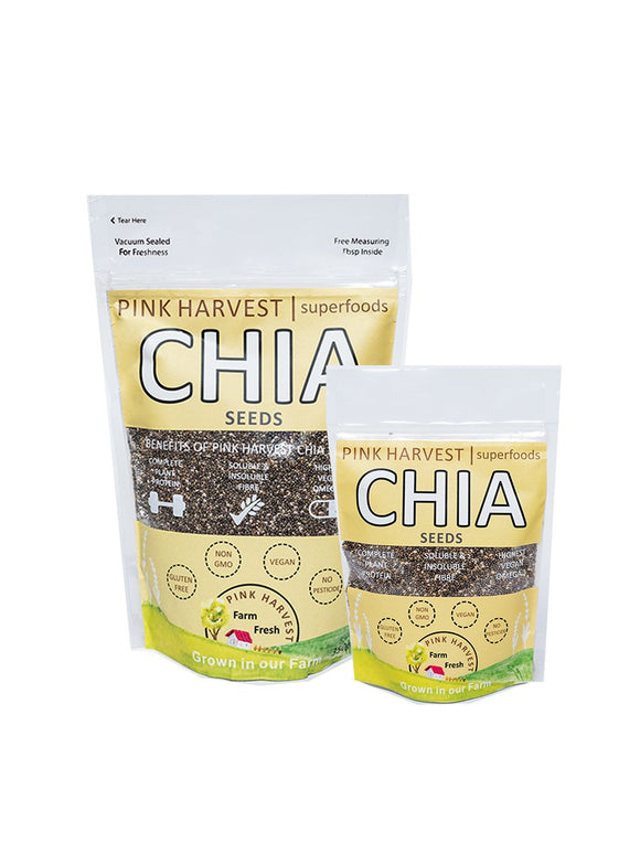 Black Chia Seeds - Pink Harvest