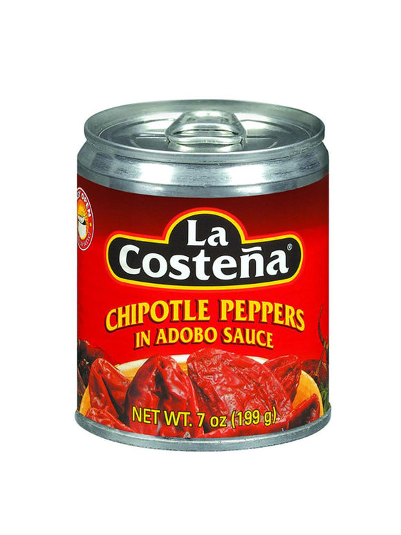 Chipotle Peppers in Adobo Sauce - 199g - La Costena