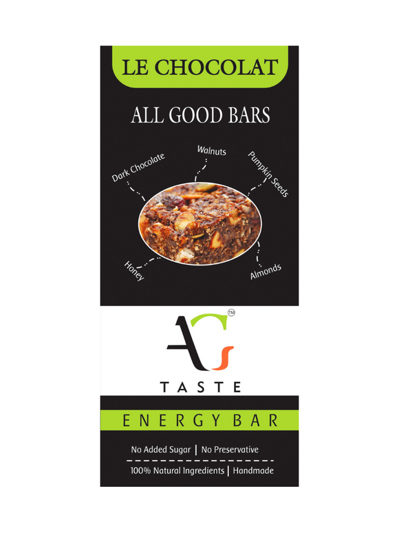 Le Chocolat Health Bars - All Good Taste