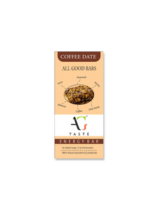 Coffee Date Health Bar - 30g - All Good Taste