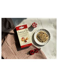 Egg-Free Cranberry & Oat Pancake Mix - 220g - The Daily Gourmet