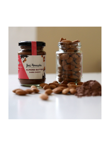 Dark Chocolate Almond Butter - High Protein, Gluten Free - 125g - Jus Amazin