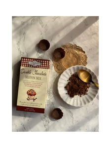 Double Chocolate Muffin Mix - 405g - The Daily Gourmet