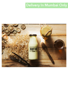 Honey Vanilla Flavor Milk Kefir - 180Ml Culture Smoothies & Keffir