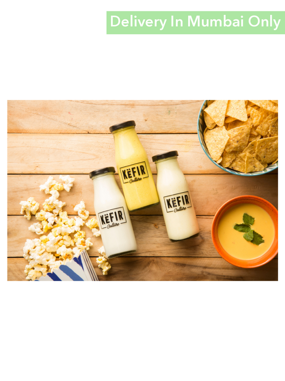 Mango Flavor Milk Kefir - 180Ml Culture Smoothies & Keffir