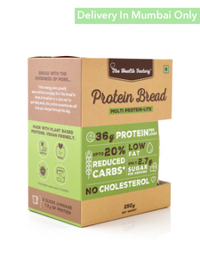 Multi Protein Bread Lite - 250G The Health Factory Breads Muffins & Croissants