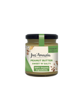 Organic Peanut Butter with Crunchy Flax and Sunflower Seeds - 200 g - Jus Amazin