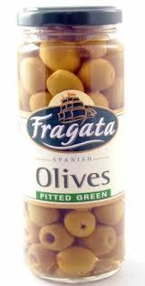 Green Olives (pitted) - 440gm - Fragata