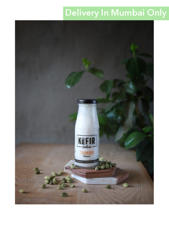 Thandai Flavor Milk Kefir - 180Ml Culture Smoothies & Keffir
