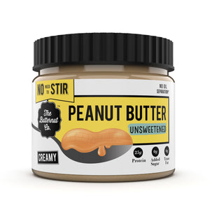 Peanut Butter Unsweetened  - 340g - The Butternut Co