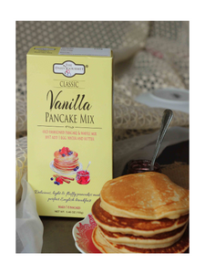 Classic Vanilla Pancake Mix - 155g - The Daily Gourmet