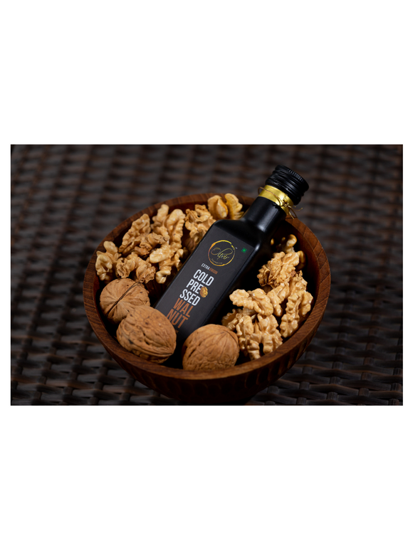 Walnut Cold Pressed Oil - 100ml - Olixir