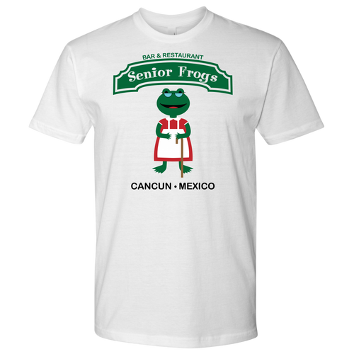 Senior Frogs Tee - High Tee Company
