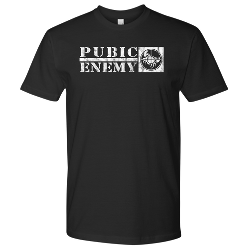 Pubic Enemy Tee - High Tee Company