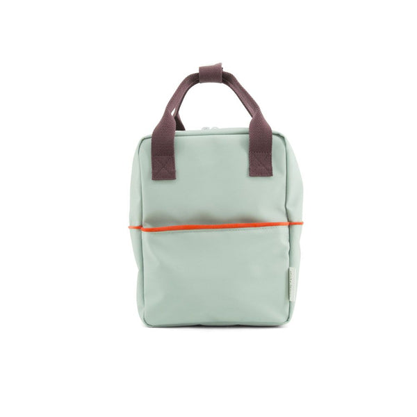 Small Backpack Sage / Eggplant
