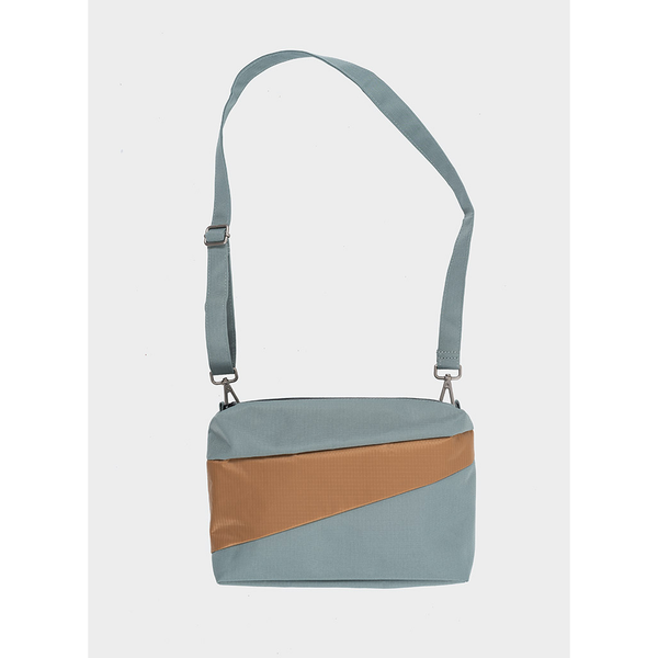 Bum Bag Medium | Grey & Camel