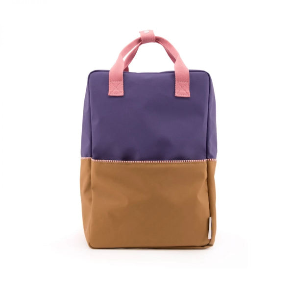 Large Backpack Colour block