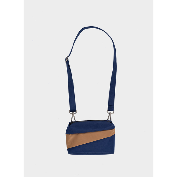 Bum Bag Small | Navy & Camel