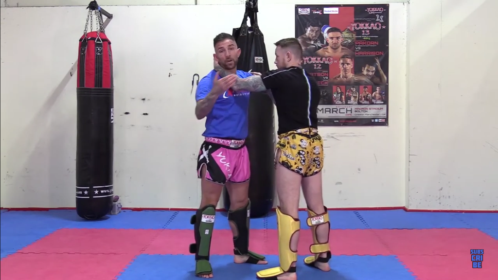 Breaking The Clinch Grip To Elbow With Liam Harrison