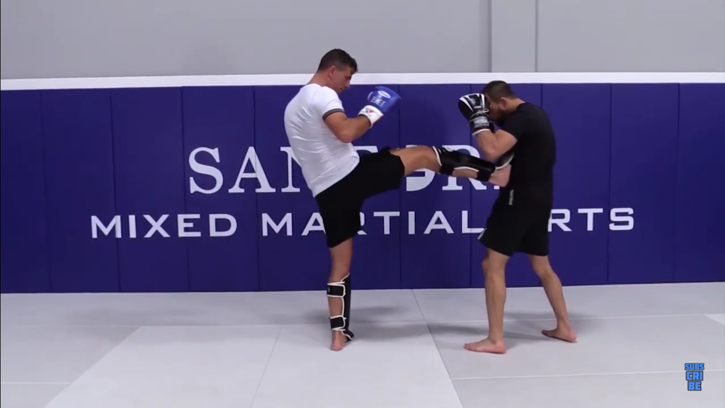 Throwing The Front Kick With Henri Hooft