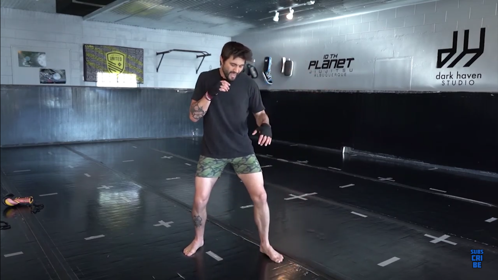 Basic Footwork Box Drill by Carlos Condit
