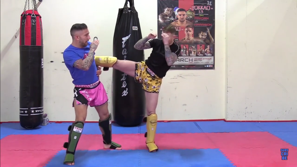 Catch The Body Kick With Liam Harrison