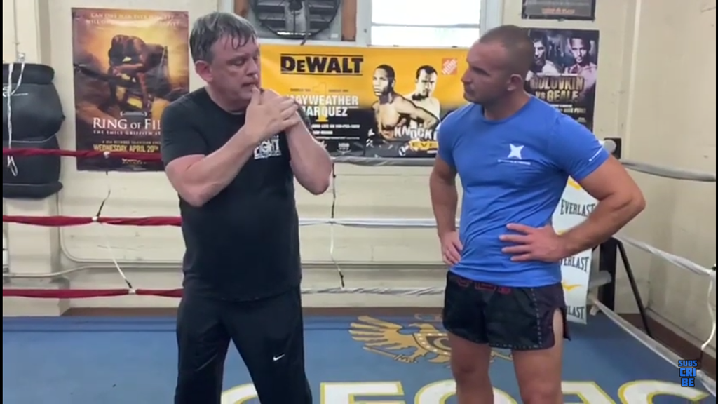 Peek-A-Boo Boxing with Teddy Atlas