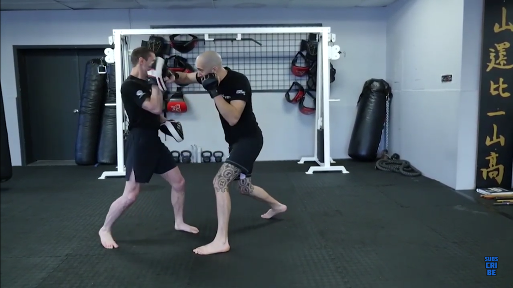 Uppercuts To Elbows With Dave Leduc
