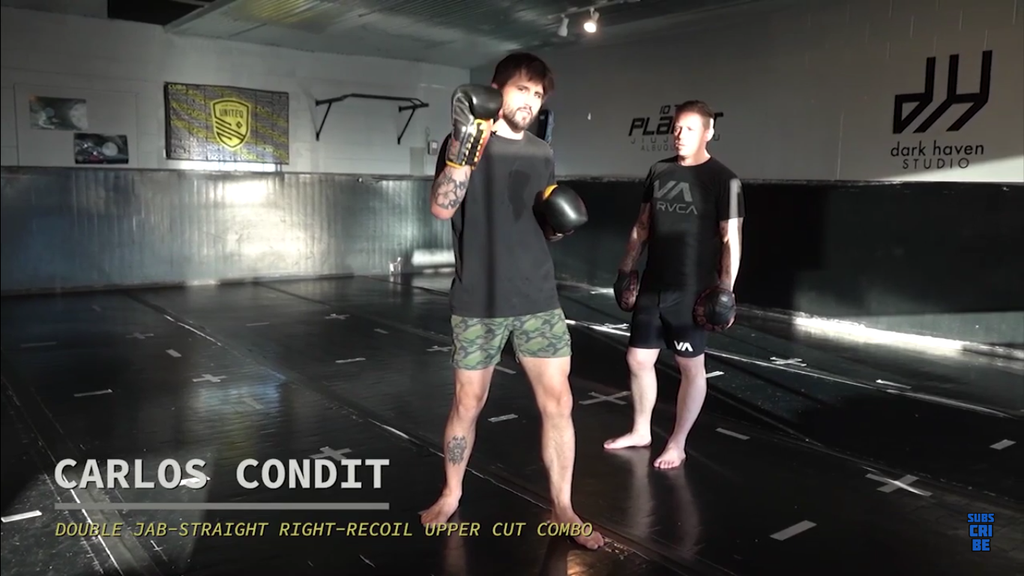 Another Creative Combat Tested Combo by Carlos Condit