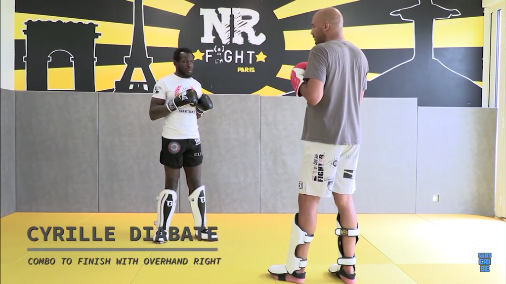 Landing The Overhand Right With Cyrille Diabate