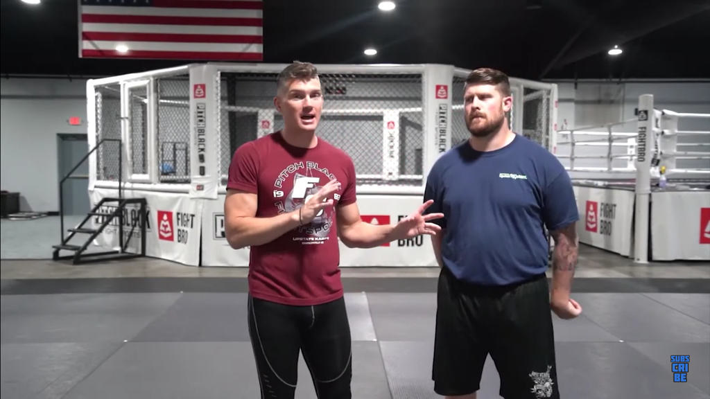 "Stance Switching Drill With Stephen ""Wonderboy"" Thompson"