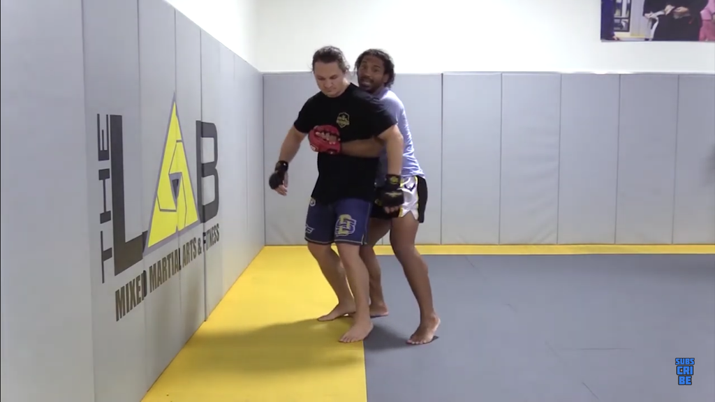 Perfect Your Body Lock Squeeze With Benson Henderson