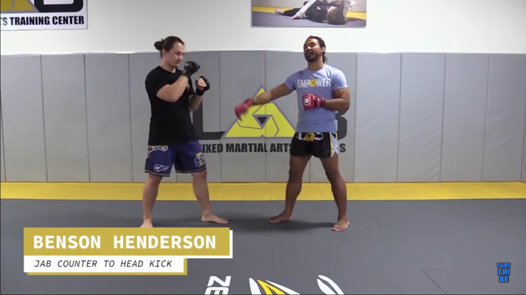 Using Kicks to Counter the Jab with Benson Henderson & Thiago Alves!