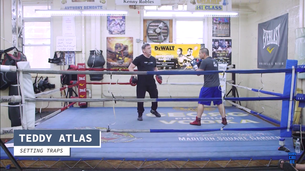 Learn To Lay Traps With Teddy Atlas