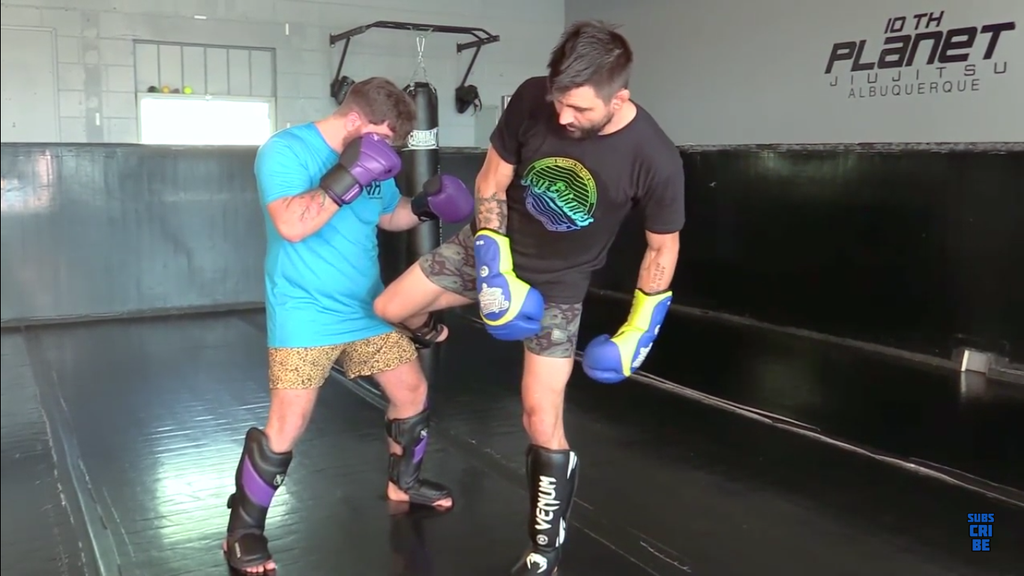 Set Up The Low Kick With Carlos Condit