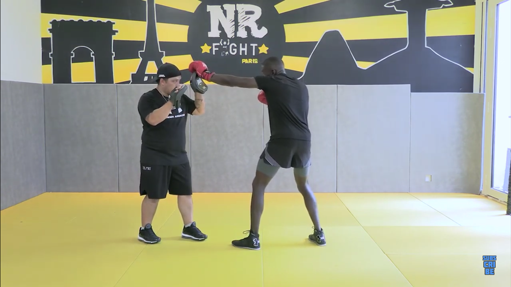 Basic But Very Effective Boxing Combination With Souleymane Cissokho