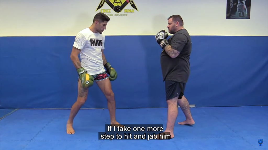 How To Close the Distance With Next Level Striking Tips by Alexsandro Pereira