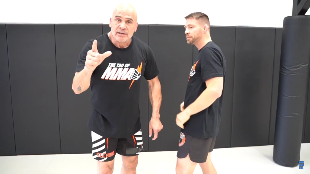 An Elbow From Hell in the Clinch with Bas Rutten