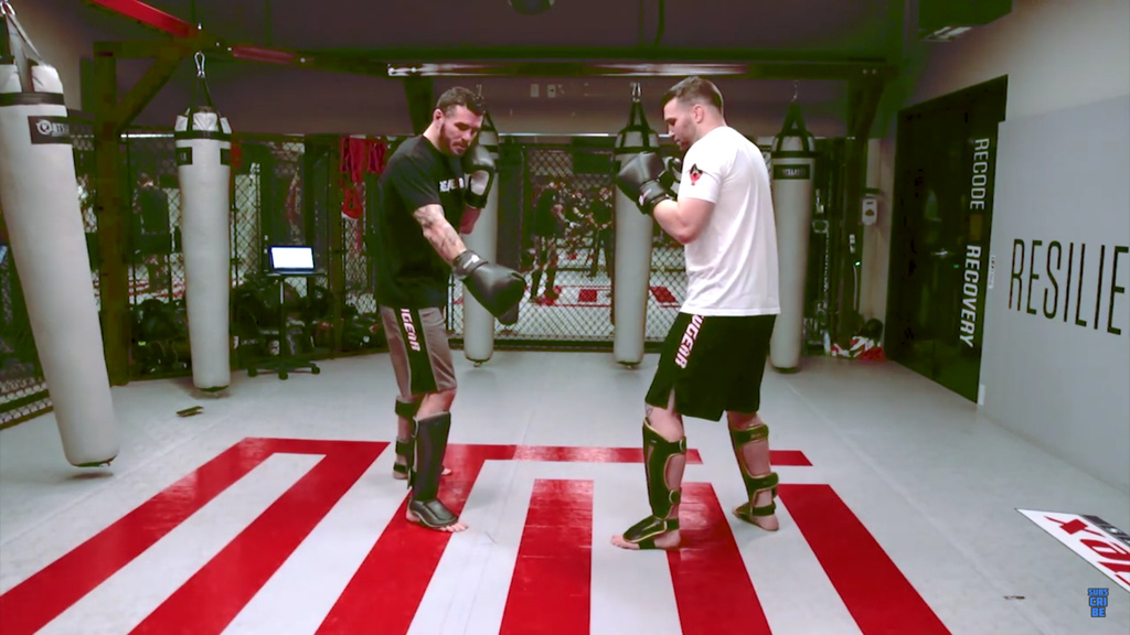 Use This Strategy To Maintain Outside Foot Position With Chris Camozzi
