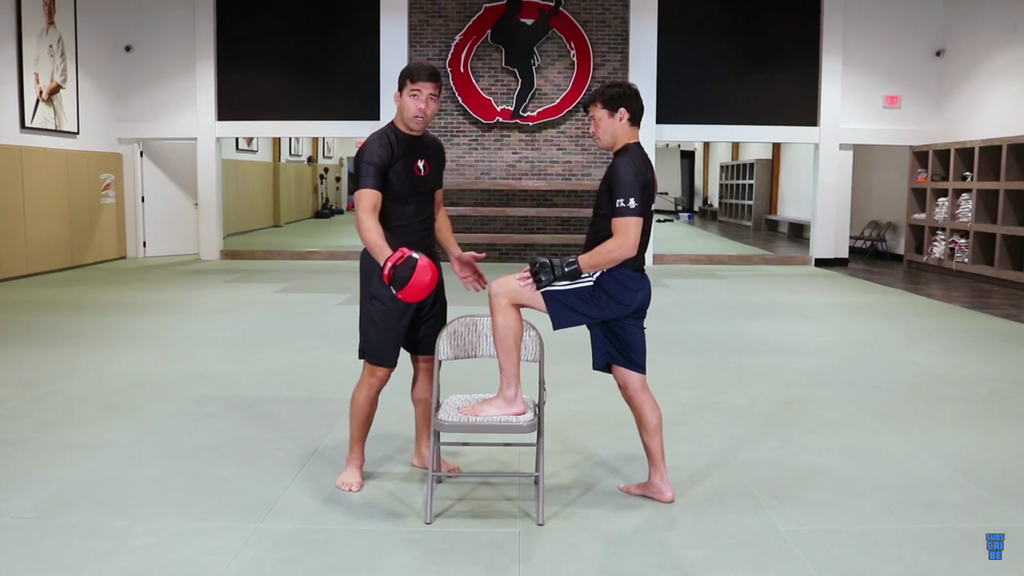 Front Leg Front Kick With The Machida Brothers