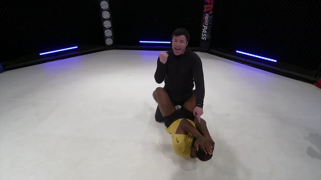 Body Shots In The Guard For MMA With Chael Sonnen