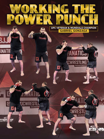 Working The Power Punch by Gabriel Gonzaga