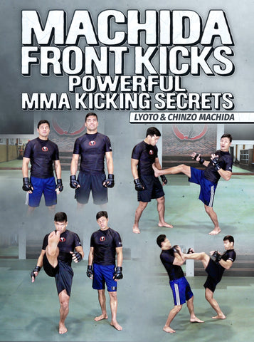 Machida Front Kicks by Lyoto and Chinzo Machida