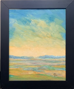 """Golden Glow"" Original Oil by Beverly Waite"