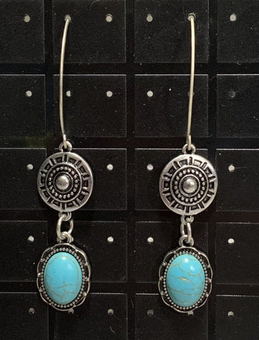 Magnesite SW Earrings Sarah Bernzott