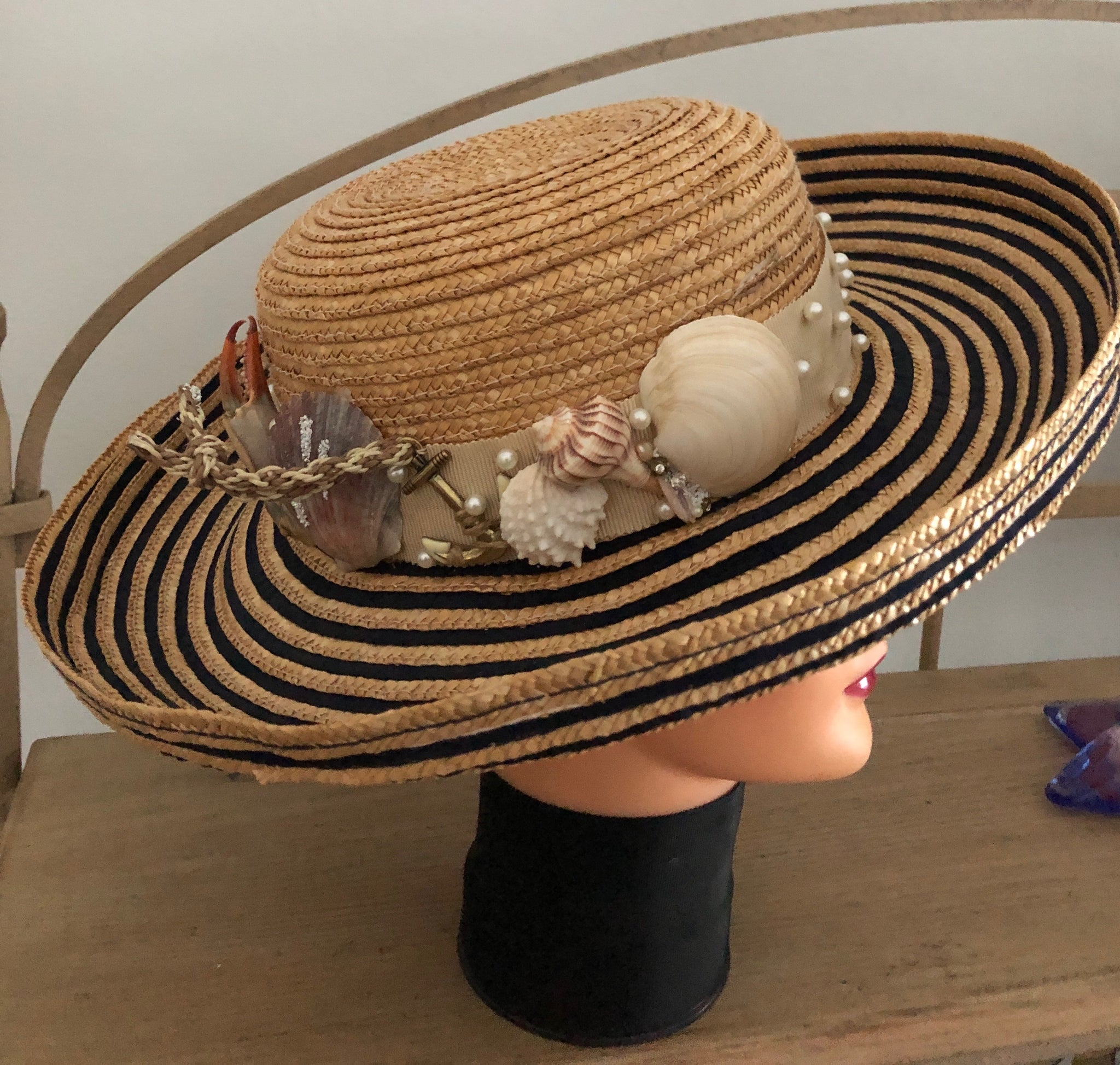 """Tybee Collection"" Straw Hat by Gena Fausel"