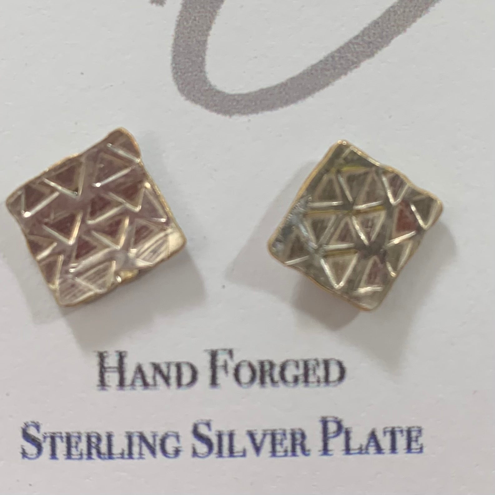 Triangles Stud Earrings