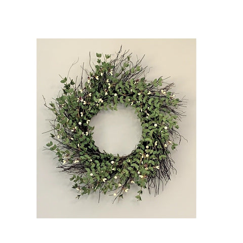 """Twig & Pip Berry Wreath"""