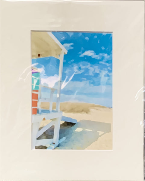 """Tybee Beach:  Afternoon Shadow"""