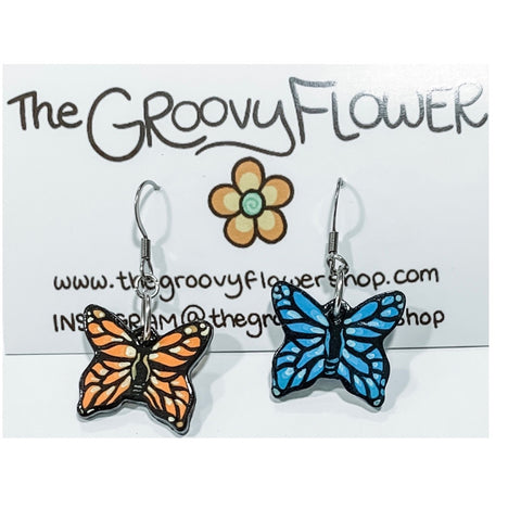 """Basics"" Polymer Clay Drop Earrings by Corrine Dowd"
